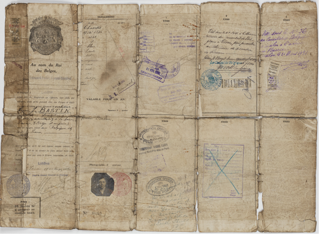 Паспорт бельгийца